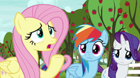 "Fluttershy ""only take a few small bites"" S9E13"
