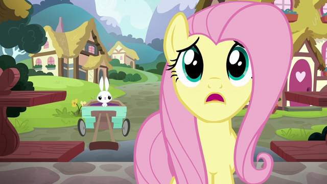 """File:Fluttershy """"sure she would be here today"""" S7E5.png"""