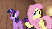 "Fluttershy ""you wouldn't have been sick"" S7E20"