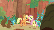 Fluttershy convinced the Kirin to talk S8E23