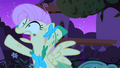 Fluttershy falling into her own trap S1E26.png