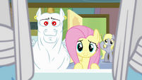 Fluttershy making a promise S4E10