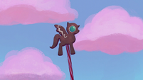 "Gingerbread pony ""beat it, windigos!"" S5E20"