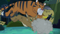 Jungle cats tackle Daring Do S4E04.png