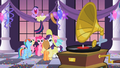 Main 6 at Twilight's birthday party S2E9.png