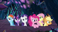 Mane Six break out of Sombra's cage S9E2