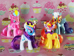 Masquerade Playful Ponies first set