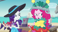 """Pinkie Pie """"help away from the crabs"""" EGDS16"""