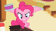 Pinkie Pie -assaulting- Spike with cake S2E10