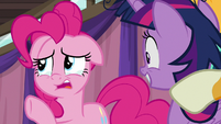"Pinkie teary-eyed ""from over there"" S9E16"