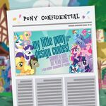 Pony Confidential 2014-02-11 - WeLoveFine design contest