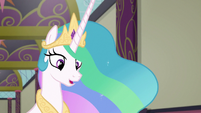 Princess Celestia -before you can move forward- S8E1