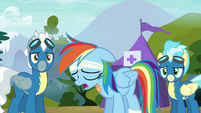 Rainbow Dash --not Wonderbolt material after all-- S6E7