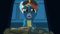 Rainbow Dash getting teary-eyed S6E7