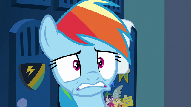 File:Rainbow Dash losing her patience S7E7.png