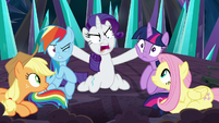 "Rarity ""show me the muddy!"" S9E2"