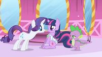 Rarity --Oh, I am so envious!-- S1E01