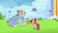 Scootaloo taking Bow and Windy's picture S7E7.png