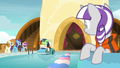 Shining Armor looking sick at the starting line S7E22.png