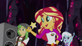 Sunset Shimmer directing the CHS campers EG4.png