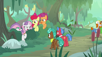 "Sweetie Belle ""we're not wild swamp ponies"" S9E22"