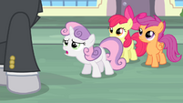 "Sweetie Belle ""you have to believe us!"" S4E19"