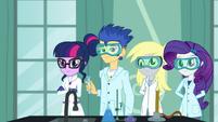 The Canterlot High School chemistry club EGDS4