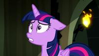 "Twilight ""Luna's turning into Nightmare Moon again!"" S5E13"