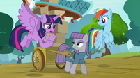 "Twilight ""why would Pinkie leave Ponyville?"" S8E18"
