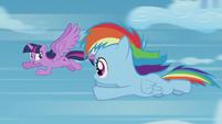 Twilight --fast enough for a sonic rainboom-- S5E25