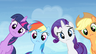 Twilight and friends in disbelief S4E24