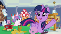"Twilight declares again ""best aunt ever!"" S7E3"