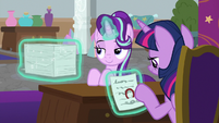 Twilight stamping school documents S9E4