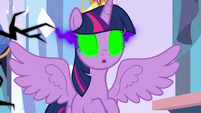 Twilight under the effect of dark magic S9E1
