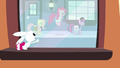 Angel tries to get Twilight and her friends' attention S03E11.png
