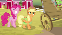 """Applejack """"let's get this show on the road!"""" S4E09"""