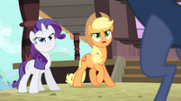 Applejack 'How do you know about her trip' S4E11