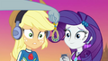 Applejack and Rarity look at old earring EGDS15.png