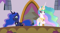 "Celestia ""my sister and I have ruled this land"" S9E26"