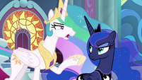 "Celestia ""threats inside the castle"" S9E4"