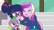 Dean Cadance hugging Twilight EG3