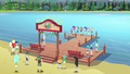 Equestria Girls and Wondercolts on the completed dock EG4.png