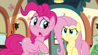 Fluttershy angrily stepping forward S6E18