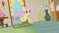 Fluttershy rushes to Sugarcube Corner S1E10.png