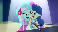 Lyra and Sweetie Drops touching faces EG2