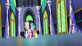 Main five and Cadance walking down castle hall S5E19.png