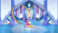 Main ponies final cheer pose S03E12.png