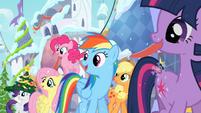 Main ponies in Canterlot S02E11