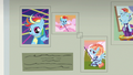 More pictures of Rainbow Dash on the wall S7E7.png