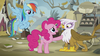 "Pinkie ""learn to care about each other again"" S5E8"